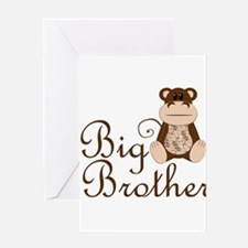Big Brother Monkey.png Greeting Card