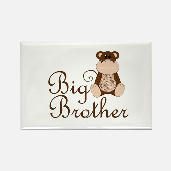 Big Brother Monkey.png Rectangle Magnet