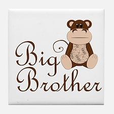 Big Brother Monkey.png Tile Coaster