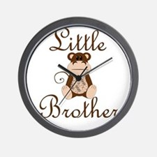 Little Brother Monkey.png Wall Clock