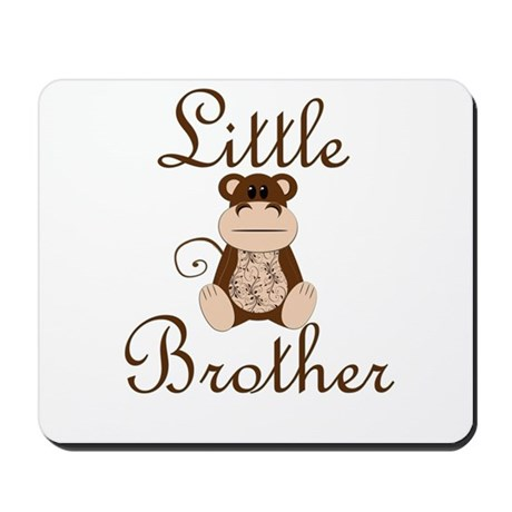 Little Brother Monkey.png Mousepad