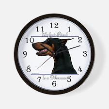 Dobie 8 Wall Clock