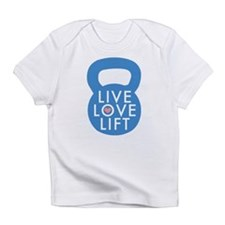 Blue Live Love Lift Infant T-Shirt