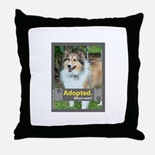 Sheltie ( Shetland Sheepdog ) Throw Pillow