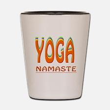 Yoga Namaste Shot Glass