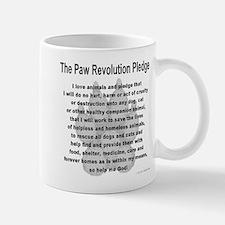 The Paw Revolution Pledge Mug