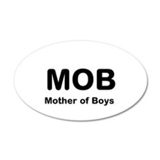 Mother of Boys Wall Decal