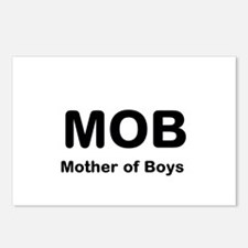 Mother of Boys Postcards (Package of 8)