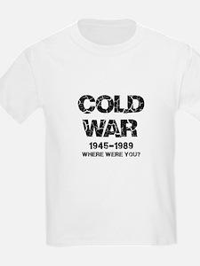 Cold War Where were you? T-Shirt