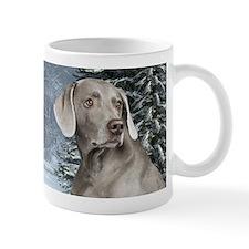 Weimaraner Winter Mug