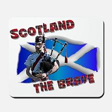 Scotland the brave Mousepad