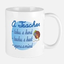 Teacher takes a hand Mug