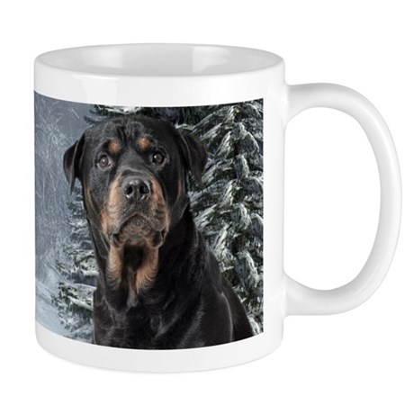 Winter Rottweiler Mug