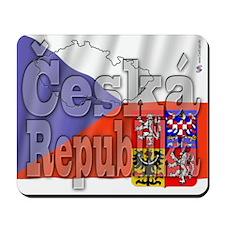 Flag of Ceska Republika Mousepad