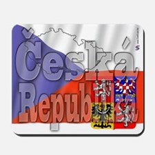 Flag of Ceska Republika Mousepad