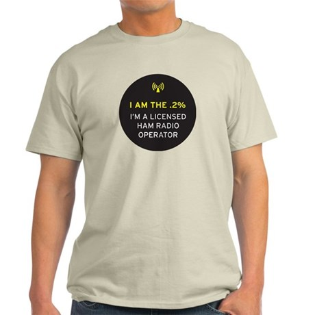 I am the .2% Light T-Shirt