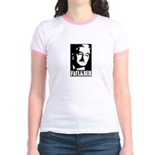 faulkner blackandwhite T-Shirt