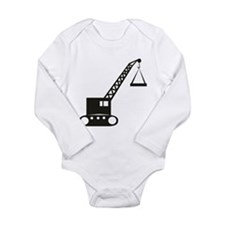 Unique Lifting Long Sleeve Infant Bodysuit