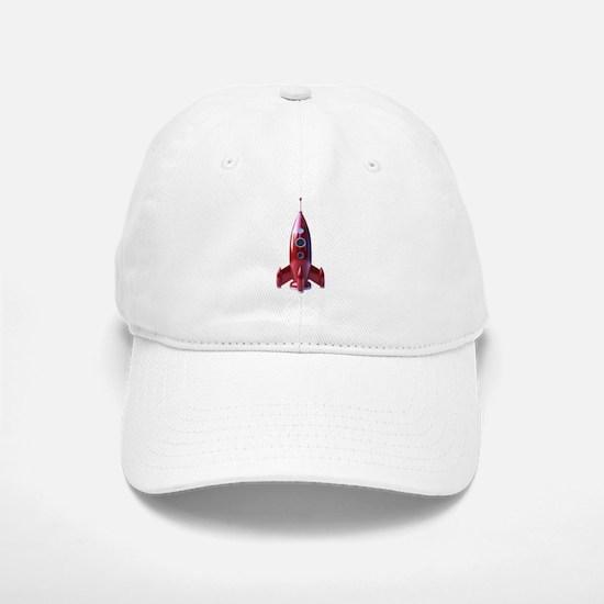 rocketship Baseball Baseball Cap