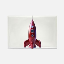 rocketship Rectangle Magnet