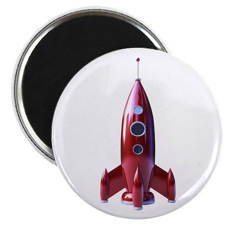 """rocketship 2.25"""" Magnet (10 pack)"""