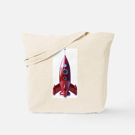 rocketship Tote Bag