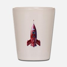 rocketship Shot Glass