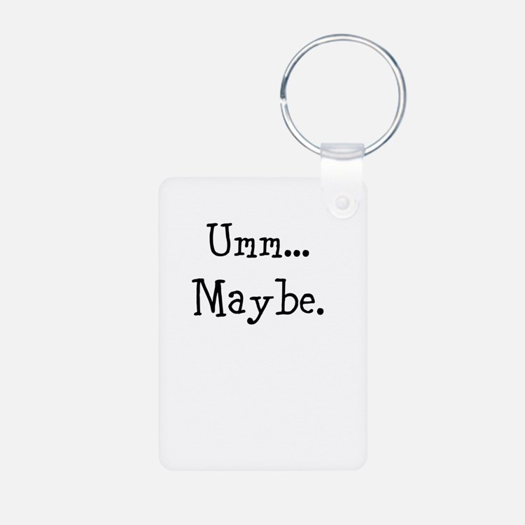 Umm... Maybe. Keychains
