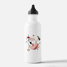 Drunk Santa Water Bottle