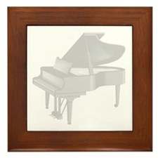 Grand Piano Framed Tile