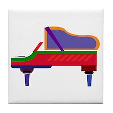 Funky Piano Tile Coaster