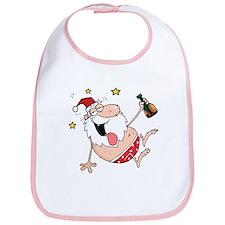 Drunk Santa Bib