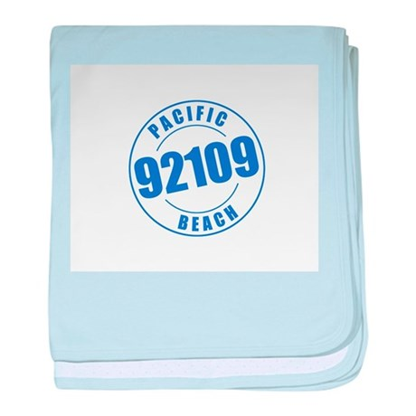 Pacific Beach 92109 baby blanket