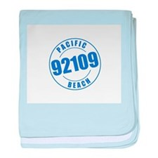 Pacific Beach 92109 baby blanket