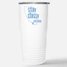 Stay Classy Stainless Steel Travel Mug