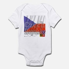 Silky Flag Czech Republic Infant Bodysuit