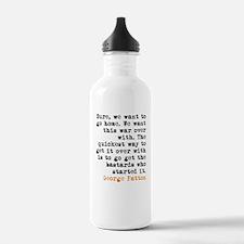 George Patton Water Bottle