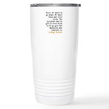 George Patton Travel Mug