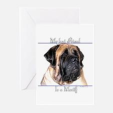 Mastiff 92 Greeting Cards (Pk of 10)