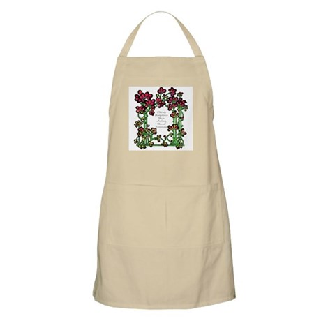 """""""Plant Only Beauty..."""" BBQ Apron"""