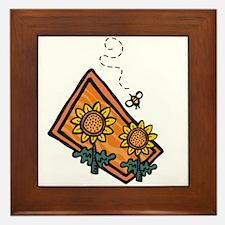 Bees5 Framed Tile