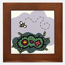 Bees4 Framed Tile