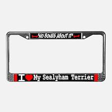 NB_Sealyham Terrier License Plate Frame