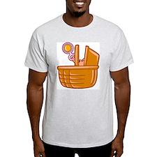 Basket of Baby Ash Grey T-Shirt