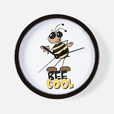 Bees8 Wall Clock