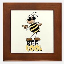 Bees8 Framed Tile