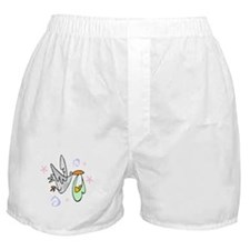 Stork In Flight Boxer Shorts