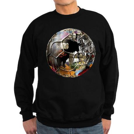 Culture of Spain Soccer Ball Sweatshirt (dark)