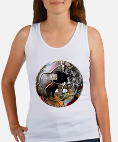 Culture of Spain Soccer Ball Women's Tank Top