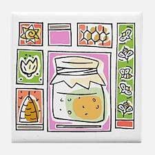 Bees12 Tile Coaster